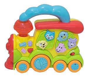 Trenzinho Da Fazenda Musical Infantil Bbr Toys
