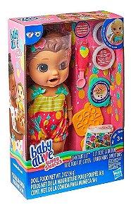 Boneca Baby Alive Lanchinhos Divertidos Morena E5842 - Hasbro