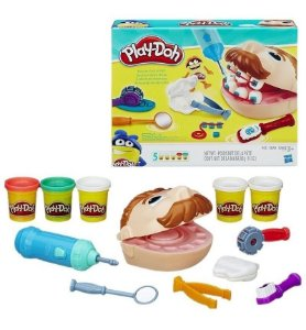 Massinha Play-Doh Dentista - Hasbro