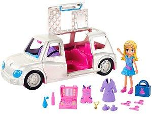 Boneca Polly Pocket Limousine Fashion Com Acessórios - Mattel