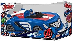Veículo Fricção Capitão América Vingadores Toyng