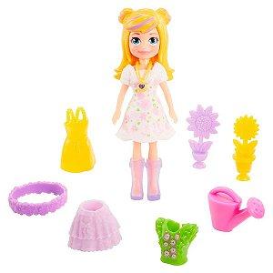 Boneca Polly Pocket Conjunto Floral Mattel - GMF78