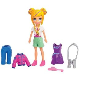 Boneca Polly Pocket Kit Nem York Fashion Mattel - GDM02