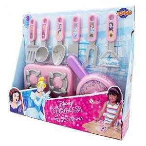 Jogo de Cozinha Infantil Princesa Disney Kit 8 Peças Toyng