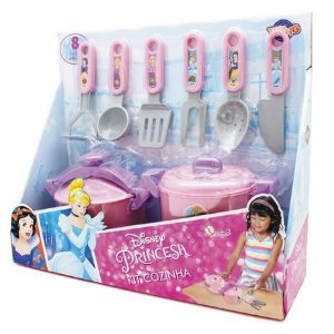 Jogo De Cozinha Panela De Pressão Princesas Toyng