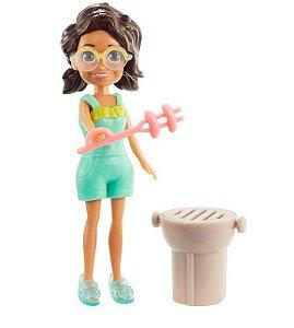 Boneca Polly Pocket Moda Praiana Mattel - GMF77