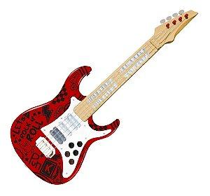 Guitarra Elétrica Infantil Show Toyng - Vermelha