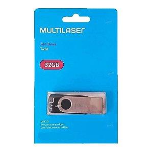 Pen Drive 32GB. Multilaser