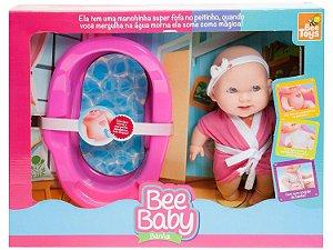 Boneca Bee Baby Banho com Acessórios - Bee Toys