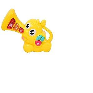 Teclado Musical Elefante Teclas Divertidas - Bbr Toys