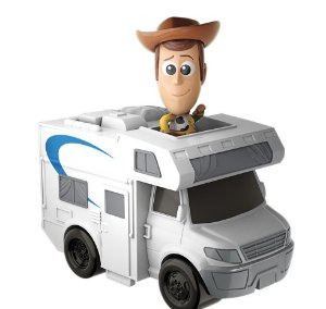 Mini Boneco Woody e Nave Toy Story 4 Mattel - GCY61