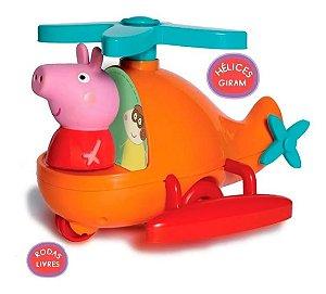 Brinquedo Infantil Helicoptero Da Pepa Pig Original Elka