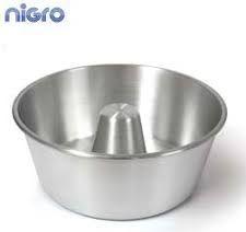 Forma Cônica 20x9 cm com Tubo em Alumínio Polido Nigro
