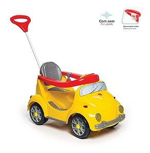 Carro a Pedal 2 em 1 - 1300 Fouks - Amarelo - Calesita