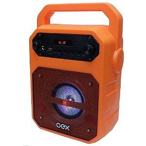 Caixa Bluetooth Fun 90W. Oex Sk415 Laranja
