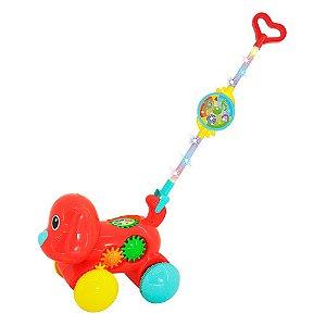 Empurra Baby Musical Cachorro - Dm Toys
