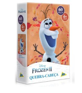Quebra-Cabeça 60 Peças Disney Frozen II Olaf - Toyster