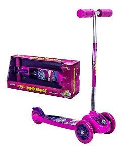 Patinete Scooternet Zumbeca Rosa Zumbizinhos - Unik Toys