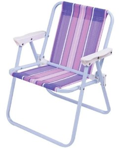 Cadeira De Praia Infantil lilas 2009 - Mor