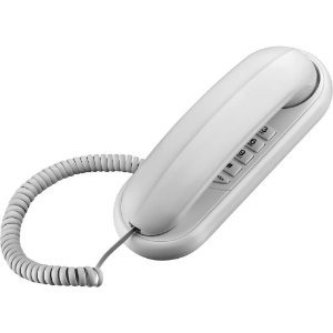 Telefone gôndola branco - função flash e redial - Elgin