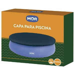 Capa P/ Piscina Splash Fun 4600L Mor
