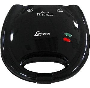 Sanduicheira Pratic 127V Lenoxx