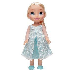 Boneca Mimo Princesa Disney Elsa Real Frozen - 30 cm