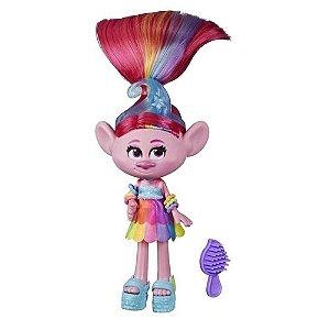 Mini Boneca Fashion com Acessórios - Trolls World Tour - Hasbro