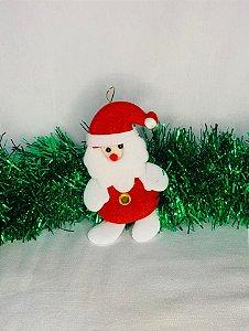 Enfeite De Tecido Papai Noel  11Cm X 8Cm - Wincy Natal