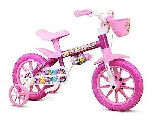 Bicicleta Infantil Flower - Aro 12 - Nathor