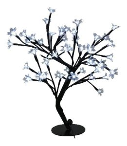 Árvore Flor De Cerejeira 60 Leds Abajur Wincy