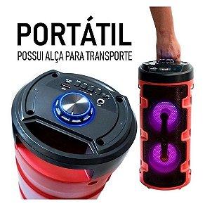 Caixa De Som Bluetooth Amplificada Portátil 127V - Alfacell