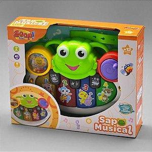 Tecladinho - Sapo Musical - Zoop Toys