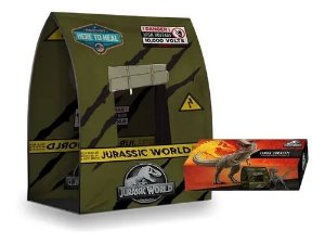 Barraca Tenda Kit Jurassic World C/ Acessórios - Pupee