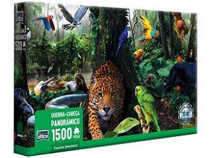 Quebra-cabeça 1500 Peças Game Office - Floresta Amazônica Toyster