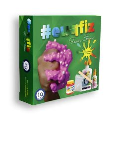 Conjunto de Slime - EUQFIZ - Kit 1 - Foam Slime - I9 Brinquedos