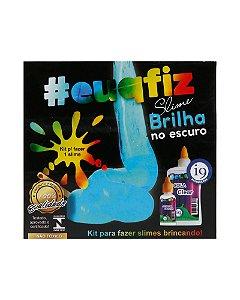 Kit Brinquedo 1 Slime Brilha no Escuro #euqfiz - I9 Brinquedos