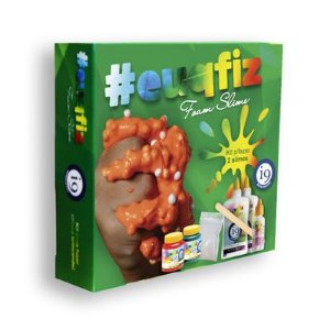 Conjunto de Slime - EUQFIZ - Kit 2 - Foam Slime - I9 Brinquedos