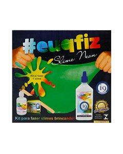 Kit Brinquedo 1 Slime Neon #euqfiz - i9 Brinquedos