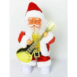 Papai Noel Com Guitarra Rio Master