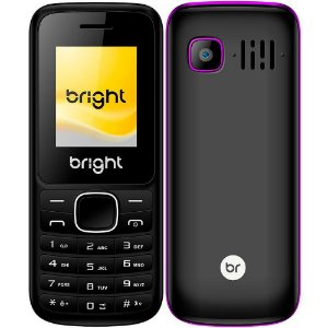 Celular Dual Chip com Bluetooth/FM/SD One Roxo - Bright