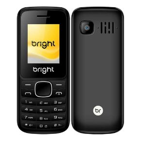 Celular Barra Dual Chip Câmera MP3 e Bluetooth  Preto - Bright