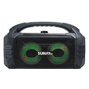 Caixa De Som Portátil Bluetooth Sunbox 50W - Sumay 127V