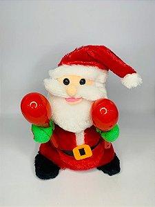 Enfeite Papai Noel Musical Rio Master