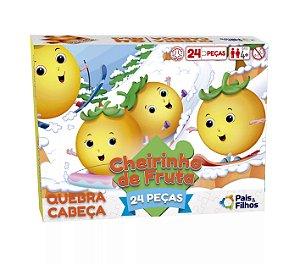Quebra-Cabeça com cheirinho de fruta - Laranja 24 peças