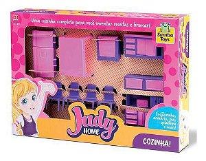 Brinquedo Infantil Coleção Judy Home Cozinha - Samba Toys