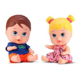 Boneca Little Dolls Gemeos - Divertoys
