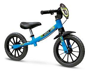 Bicicleta Infantil Aro 12 Sem Pedal Balance Bike Masculina - Nathor