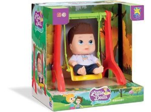 Little Dolls Playground Balanço Menino - Divertoys