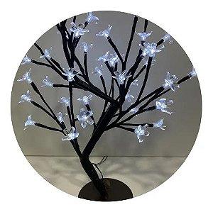 Arvore Cerejeira 96LEDS 80CM Branca - Wincy